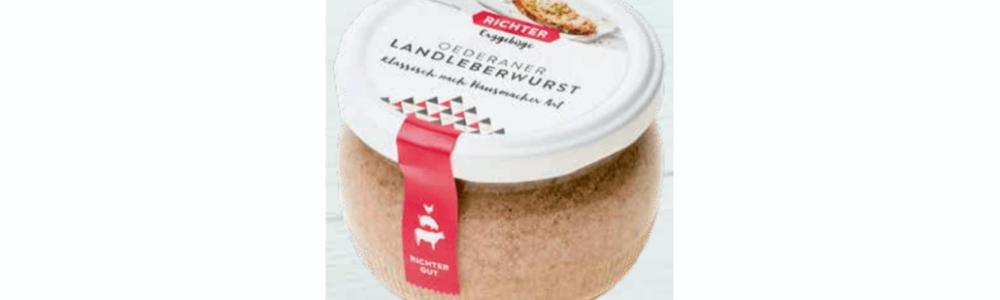 Rückruf bei Kaufland: Fremdkörper im Glas Oederaner Land-Leberwurst – Gesundheitsgefahr