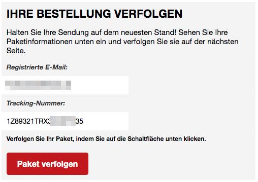 2020-03-21 Deutsche Post DHL Spam Fake-Mail Verfolgen Sie Ihr Paket Abofalle