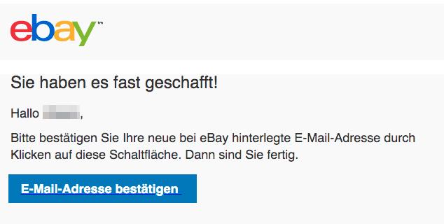 2020-03-22 ebay Spam Fake Mail Bestaetigen Sie Ihre E-Mail-Adresse