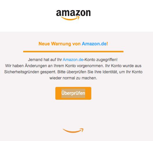 Amazon Identität Bestätigen