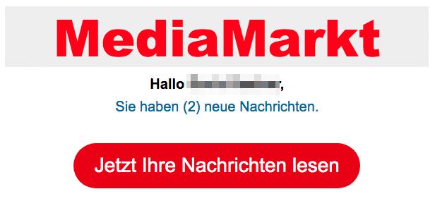 2020-04-04 Media Markt Spam Fake-Mail Neue Nachrichten