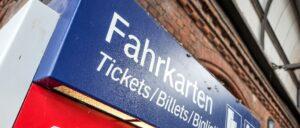 Deutsche Bahn Fahrkarte Automat