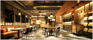 Leeres Restaurant