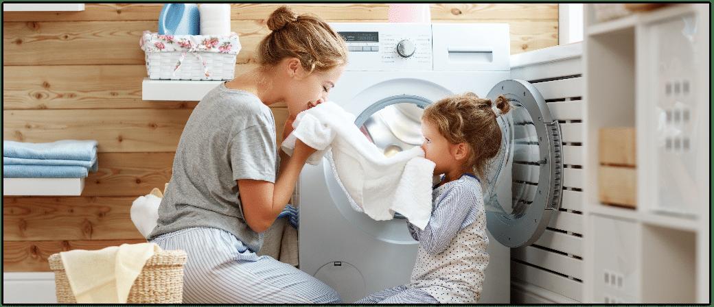 Waesche sauber, Hygiene, Waschmaschine