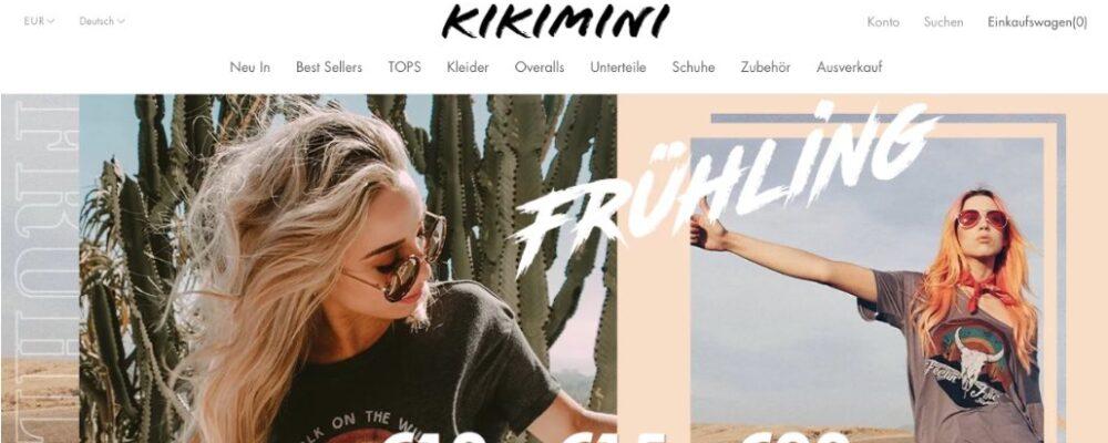 kikimini.com: Wie seriös ist der Onlineshop für Damenmode?