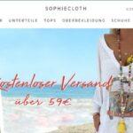 sophiecloth.com Onlineshop Erfahrungen Bewertungen