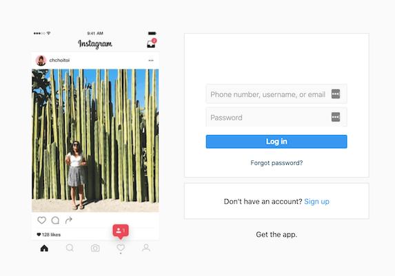 2020-04-01 Phishing Instagram Webseite