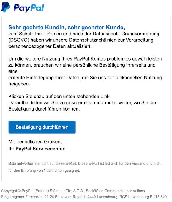 2020-04-09 PayPal Phishing