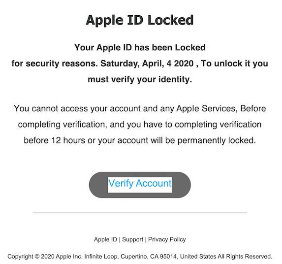2020-04-12 Apple Phishing