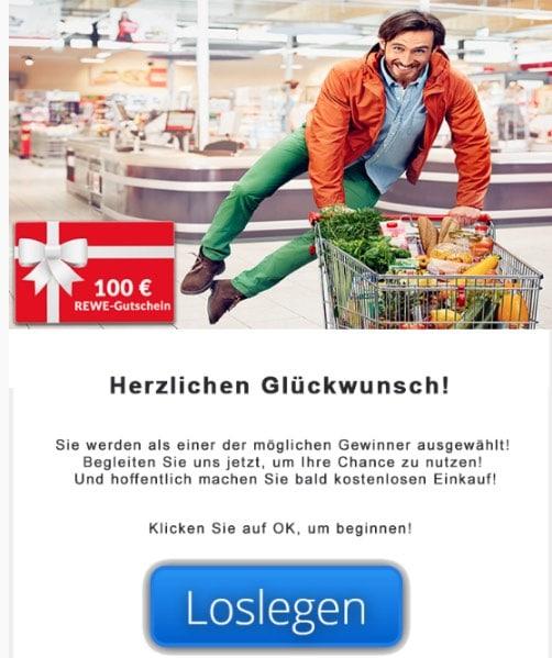2020-04-13 REWE Spam Fake-Mail Bitte bestaetigen Sie Ihr Rewe-Geschenkkarte Angebot