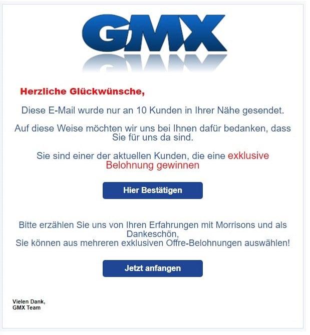 Gmx Bitte