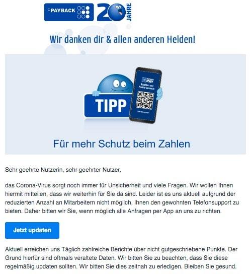 2020-04-19 Payback Spam Fake-Mail Alles was Sie wissen muessen - Die aktuelle Situation