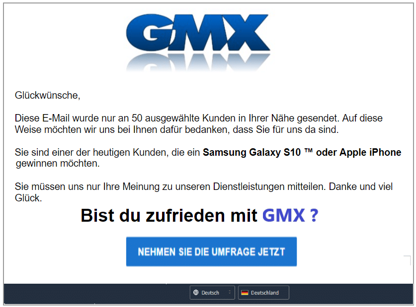 2020-04-21 GMX Spam Fake-Mail Abofalle