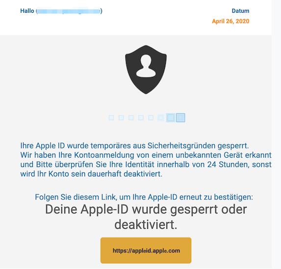 2020-04-27 Apple Phishing