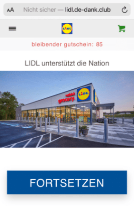2020-08-13 WhatsApp Kettenbrief Lidl 125 Euro Gutschein 1