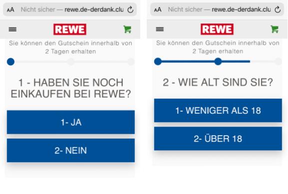 2020-08-13 WhatsApp Kettenbrief REWE 125 Euro Gutschein 2