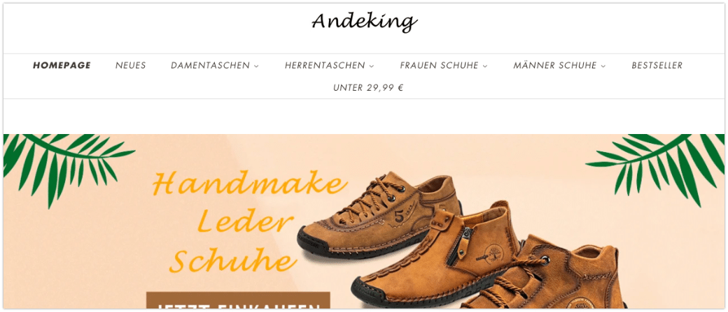 Andeking.de China Shop