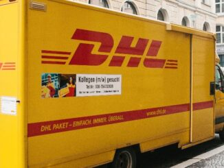 DHL Deutsche Post Symbolbild