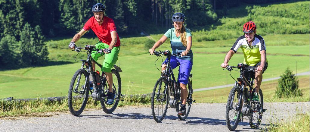 E-Bike Fahrrad Ausflug Symbolbild