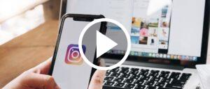 Instagram Symbolbild Video