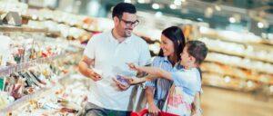 Kind Einkauf Symbolbild