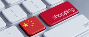 Onlineshop China Symbolbild