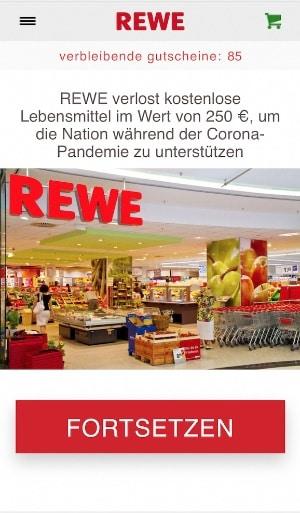 Rewe Verschenkt 250 Euro Gutschein