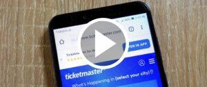 Ticketmaster Symbolbild Video