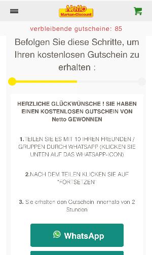 2020-05-02 Netto WhatsApp Gutschein 250 Euro 2