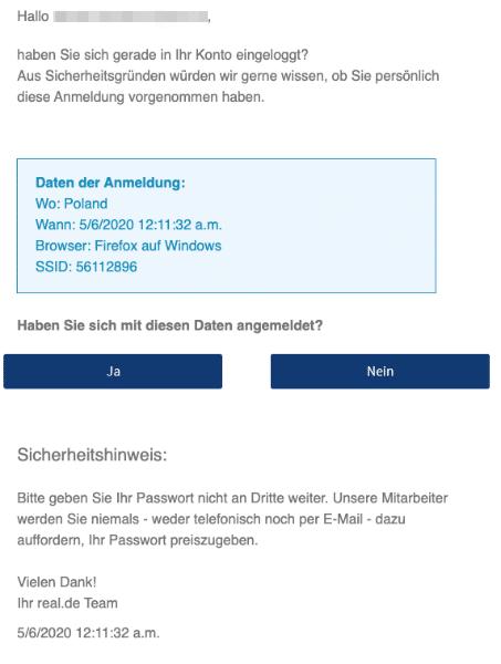 2020-05-06 Real Spam Fake-MailMarktplatz Support