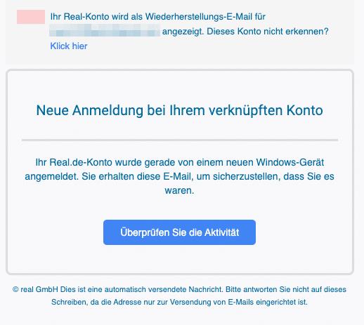 2020-05-13 Real Fake-Mail Sicherheitswarnung fur Ihr Real-Konto
