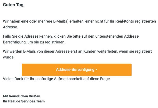 2020-05-13 Real Spam-Mail Bestaetigen Sie eine E-Mail-Adresse