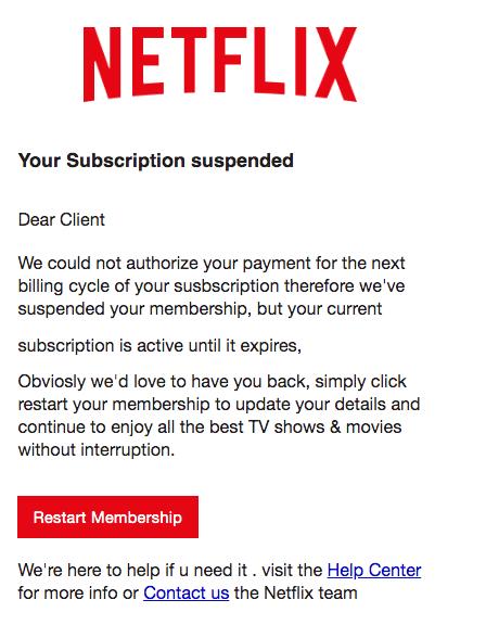 2020-05-15 Netflix Spam Fake-Mail