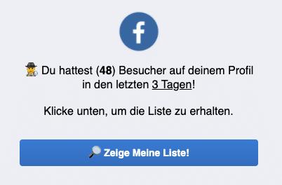 2020-05-19 Facebook Fake-Webseite Profil Besucher