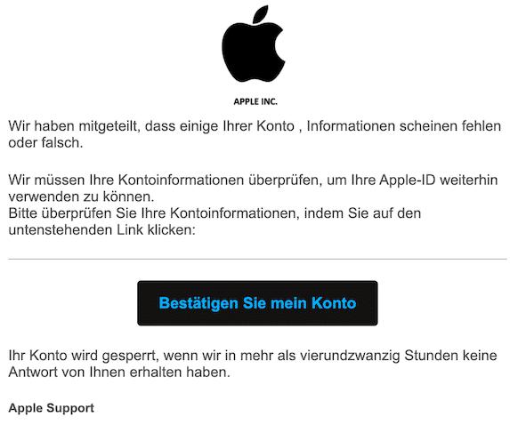 2020-05-29 Apple Phishing