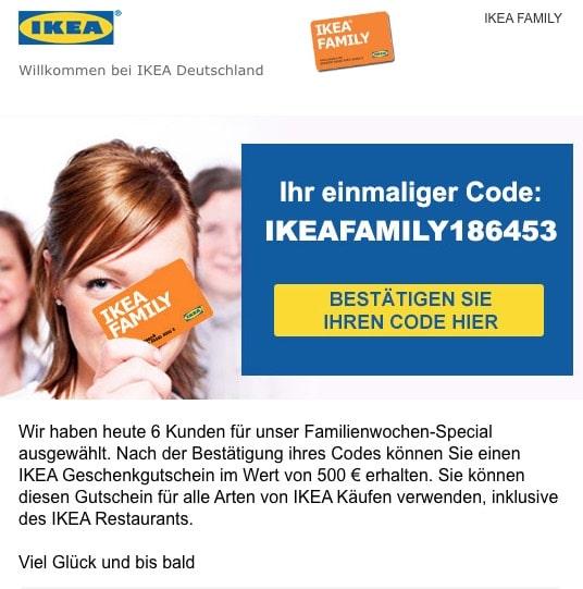Ikea Spam