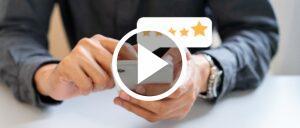 Bewertungen Video Symbolbild