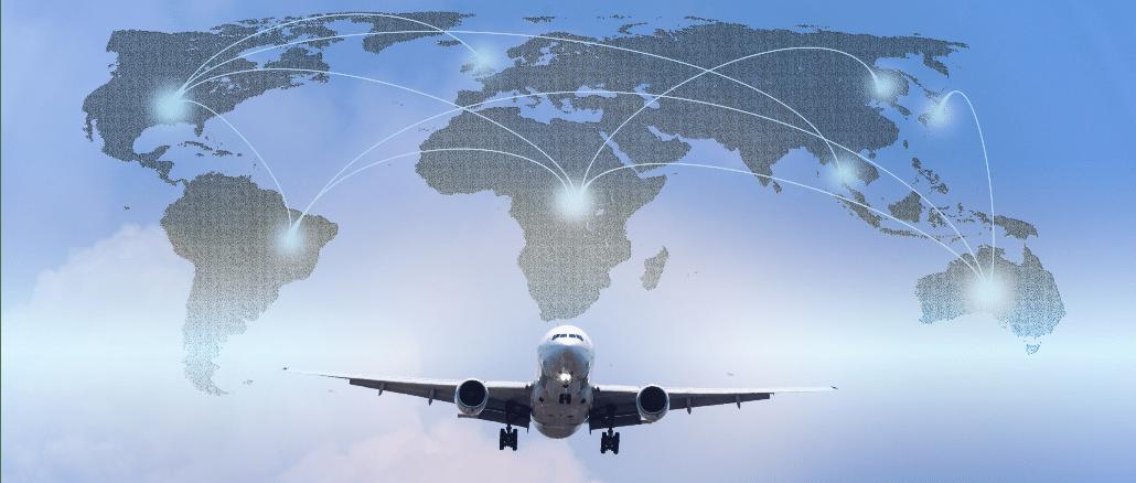 Flugzeug Welt Reisen
