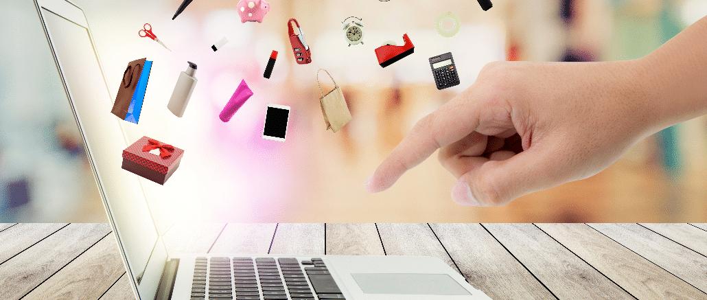 Symbolbild Onlineeinkauf, Onlineshopping