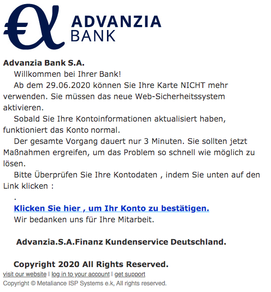 2020-07-04 Phishing_Advanzia1
