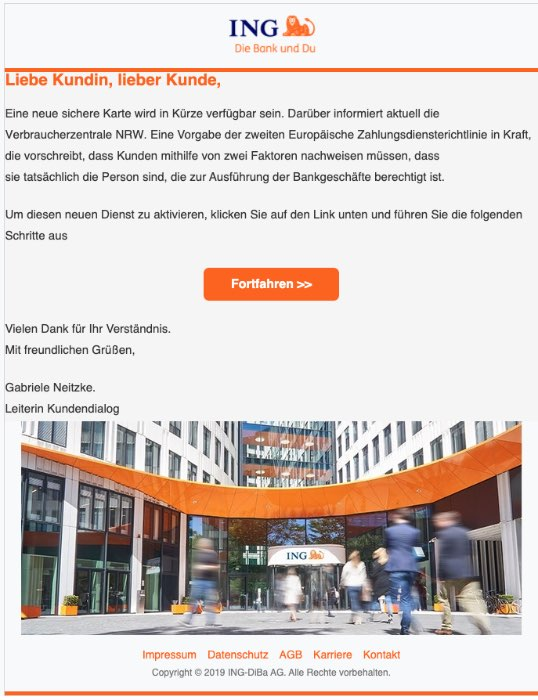 2020-07-09 ING Diba Sicherheitsueberpruefung der ING fuer ihr Kundenkonto