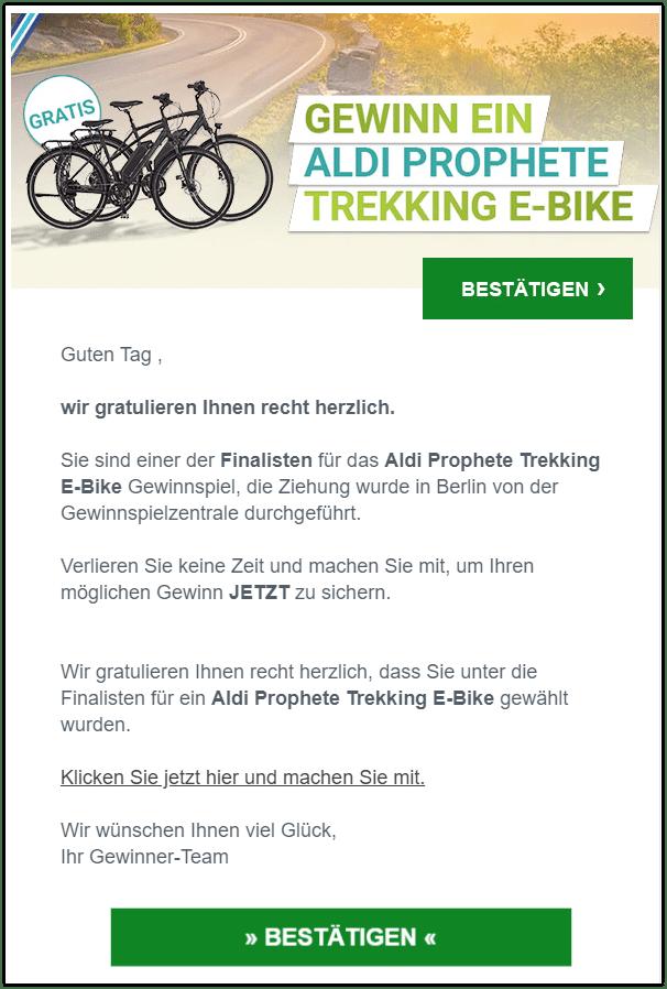 2020-09-08 Aldi E-Bike Gewinnspiel