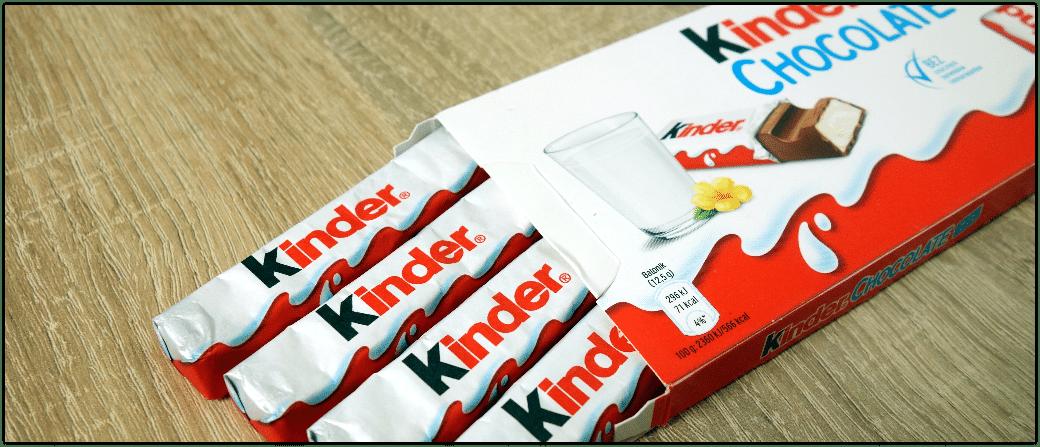 Kinderschokolade Kinderriegel