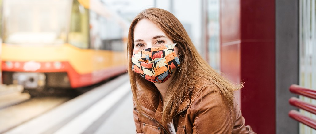 Maskenpflicht ÖPNV Symbolbild