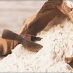 Mehl Getreide Backen