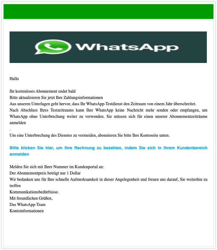 2020-07-15 WhatsApp Mail Phishing