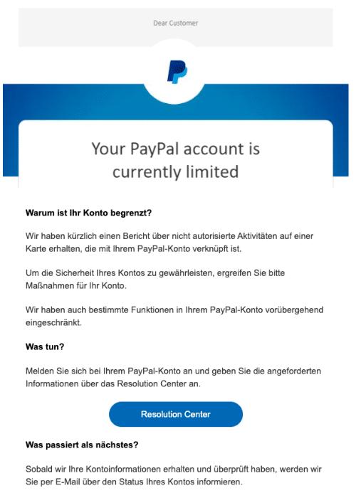 Paypal Konto Reaktivieren