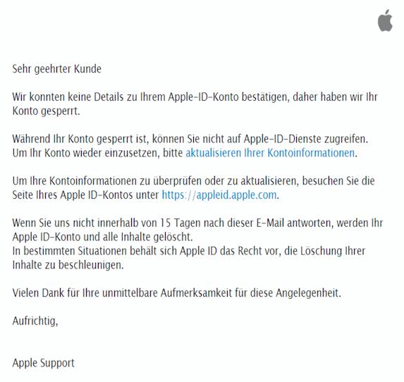 2020-07-23 Apple Phishing