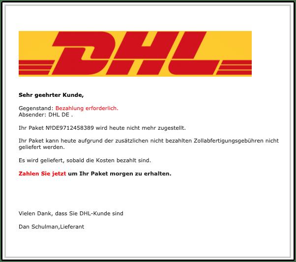 2020-08-03 Abofalle Paket DHL