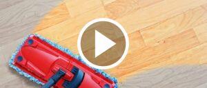 Laminat Reinigung Symbolbild Video